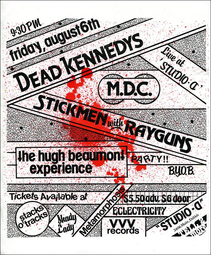 SMWRG Dead Kennedys Poster