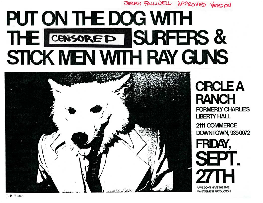 SMWRG Put on the Dog (Jerry Falwell censored version) Poster